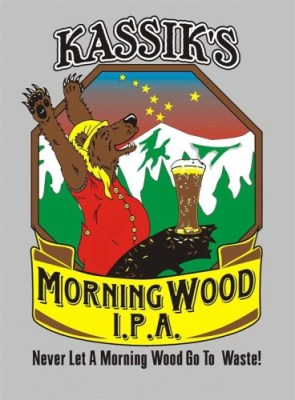 Morning Wood Beer